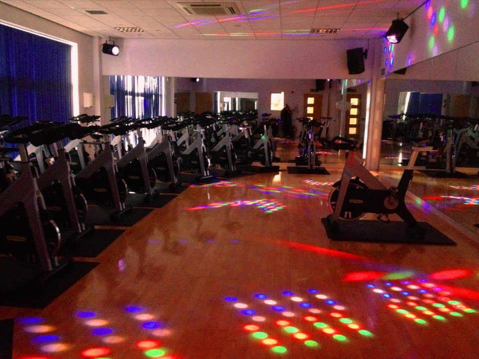 We took in to account the size of the room and installed 4 excellent value for money DMX lights which link in to the sound system so that the lighting effects move to the music.