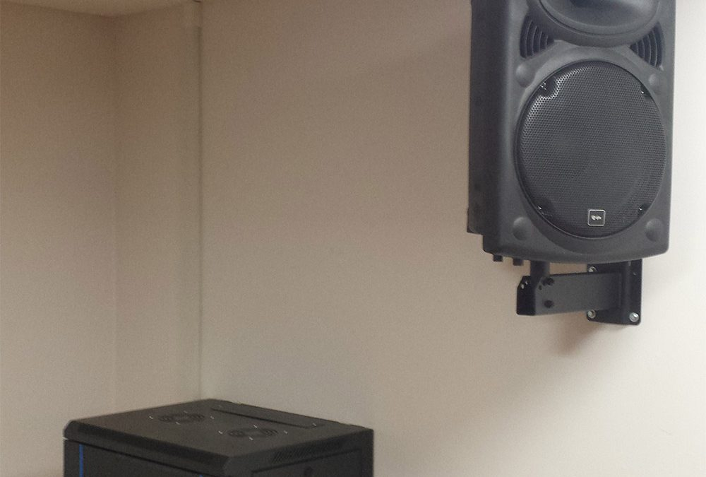 We supplied and installed one of our bespoke Instructor Systems in the spin studio here along with speakers. We supplied the system within a lockable cabinet which we mounted on the wall to allow instructors easy reach of the controls.