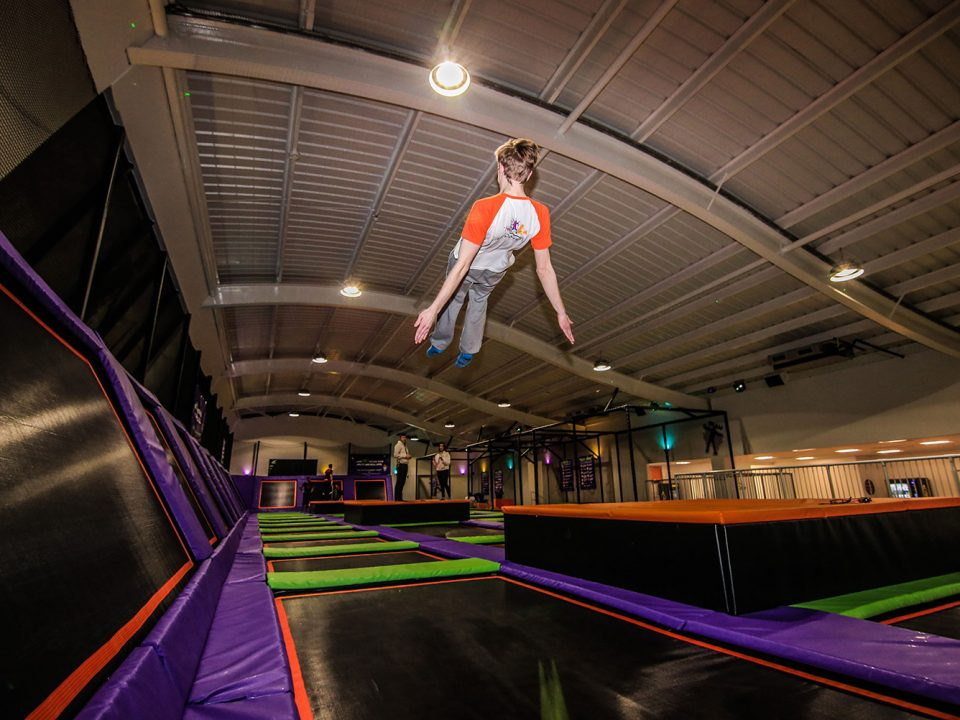 We've now completed four Jump Arena trampoline sites, two of which were huge areas with party rooms.